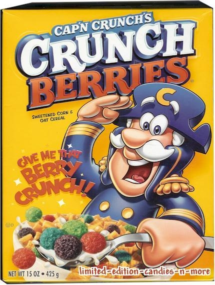 Pic of Captain Crunch Crunchberries should be here