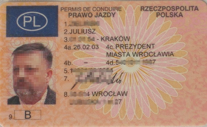 Polish Driver\'s License